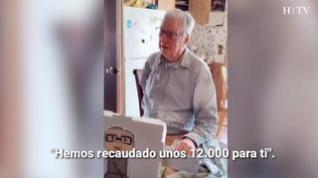 Un repartidor de pizza de 89 años recibe una propina de 12.000 dólares