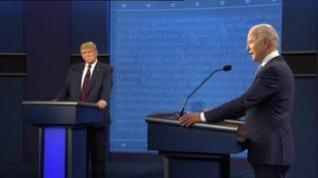 Primer debate electoral en EEUU: pocas propuestas y ataques constantes entre Trump y Biden