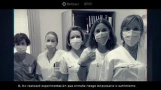 Pacientes, cuidadores y enfermeros graban un vídeo para visibilizar la ostomía