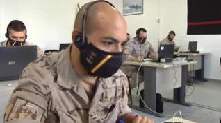Los rastreadores militares ya conocen las primeras dificultades de su trabajo