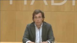 El alcalde de Madrid pide evitar desplazamientos pese a la decisión judicial
