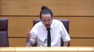 Pablo Iglesias asegura que no dimitirá por el caso Dina