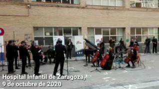 Música de cámara para celebrar el Día del Hospital Infantil en Zaragoza