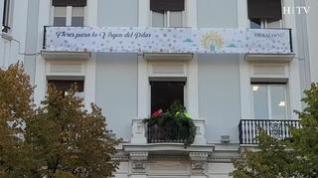 HERALDO engalana con flores sus balcones: así ha sido el montaje