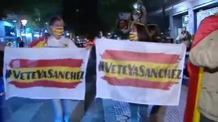 Vuelven las protestas contra el estado de alarma en Madrid