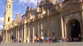 Zaragoza, sin fiestas, en un sábado de pregón atípico