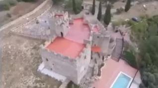 Desalojada una macro fiesta ilegal en un castillo de Tarragona
