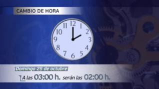 La madrugada del domingo, a las tres volverán a ser las dos