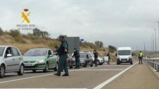 Así fue el primer día de cierre perimetral de Zaragoza