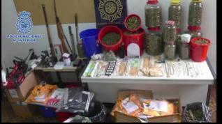 La Policía Nacional desarticula una organización criminal dedicada al tráfico de estupefacientes