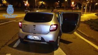 Sorprendidas tres personas con un kilo de cocaína en un control perimetral de Zaragoza