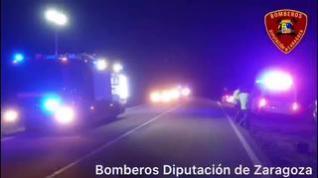 Dos mujeres han heridas en un accidente de tráfico en la A-211 entre Embid y Santed