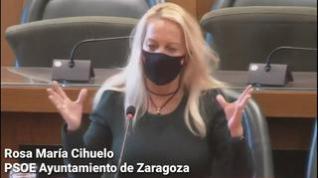 Cihuelo, del PSOE Zaragoza, compara el gobierno de Azcón con el del ministro nazi Goebbels