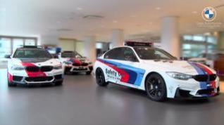 Los BMW M Safety Cars de Moto GP, en Goya Automoción