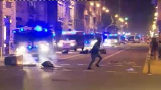 Noche de disturbios contra el toque de queda en diferentes puntos del país