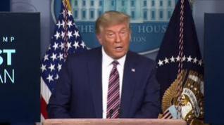 Trump acusa a Pfizer de retrasar la vacuna premeditadamente hasta después de las elecciones