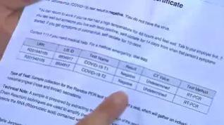 Desde hoy es obligatorio presentar una PCR negativa si se viaja desde un país de riesgo