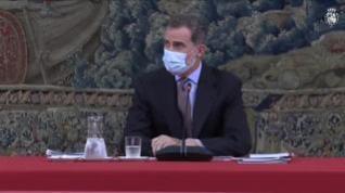 Felipe VI,  en cuarentena tras haber tenido contacto estrecho con un positivo en coronavirus
