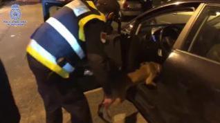 Detenidos por tráfico de drogas en en el aparcamiento de un centro comercial de Zaragoza
