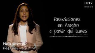 Restricciones en Aragón a partir del Lunes 30 de noviembre