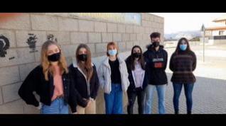 Los alumnos de Secundaria de Teruel reclaman clases presenciales