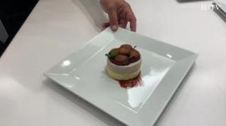 Cocina con Segarra: Melocotón con poncho navideño