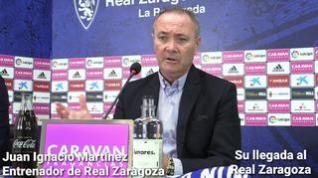 """Jim, nuevo entrenador del Real Zaragoza: """"Tenemos la obligación moral de sacar el equipo adelante"""""""