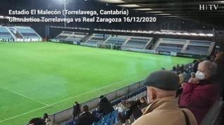 La primera vez que el Real Zaragoza juega con gente en la grada desde el parón de la liga en marzo