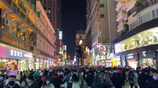 Wuhan, epicentro de la covid 19, dio la bienvenida al nuevo año