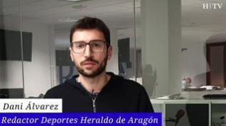 Iván Azón salva un punto en Cartagena