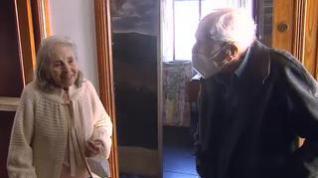 Un pintor gallego de 108 años anima a ponerse la vacuna de la COVID-19