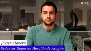 El Zaragoza sale momentáneamente del descenso con una victoria de autoridad