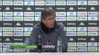 """Pellegrini cree """"bastante irresponsable"""" celebrar el partido ante el Huesca"""