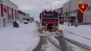 En imágenes, algunas de las intervenciones de los bomberos de la DPZ este fin de semana