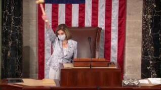 Nancy Pelosi da a Mike Pence 24 horas para invocar la enmienda 25 y destituir a Trump