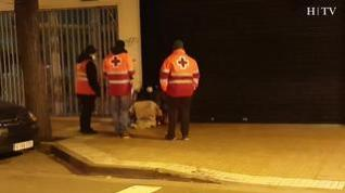 Un refugio para las personas sin hogar en las noches más frías y duras de Filomena