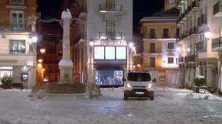 Otra noche más de gélidas temperaturas en Teruel