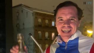 Rafa Maza, el 'pijo del balcón' que se ha hecho viral durante el temporal Filomena