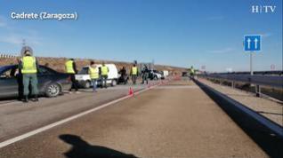 La Guardia Civil activa los controles por el nuevo confinamiento en Aragón