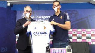 """Álex Alegría, del Real Zaragoza: """"Espero marcar muchísimos goles"""""""