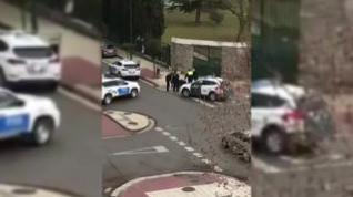 Detenido por agredir a la Guardia Civil en Ejea cuando le pidieron que se pusiera la mascarilla