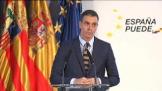 """Sánchez: """"Nos quedan meses duros, pero tenemos esperanza y confianza"""""""