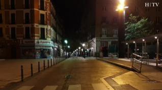 Toque de queda: Así se vacían las calles de Zaragoza