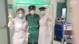 Así han vivido la pandemia los limpiadores de la UCI del Hospital Miguel Servet