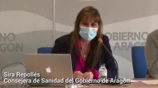 """Sira Ripollés: """"Las personas que han recibido al menos una dosis pertenecían a grupos de riesgo"""""""