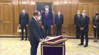 Iceta y Darias juran sus cargos como nuevos ministros de Política Territorial y Sanidad
