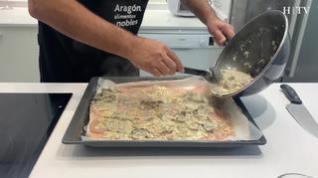 Un clásico: Pechuga de pollo con champiñones