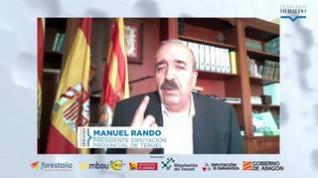 "Manuel Rando: ""Sigo viendo futuro en la provincia de Teruel"""