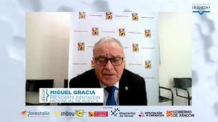"""Miguel Gracia: """"Que ningún partido político politice la despoblación"""""""