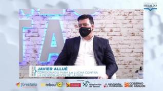 """Javier Allué: """"Esta crisis sanitaria es la evidencia de que tenemos que seguir trabajando"""""""